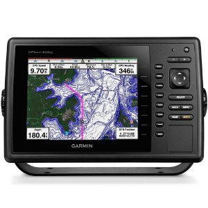 GPS Sonar Garmin GPSMAP 820xs Transducer Carta Náutica