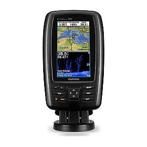 GPS Sonar Garmin ECHOMAP Plus 42cv Transducer Carta Náutica