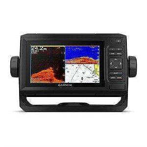 GPS Sonar Garmin ECHOMAP Plus 62cv Transducer Carta Náutica