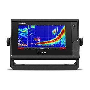 GPS Sonar Garmin GPSMAP 722XS Transducer Carta Náutica