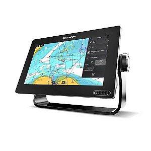 GPS Sonar Raymarine Axiom 9 RV Carta Náutica + Transducer