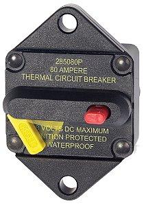 Disjuntor Térmico p/ Painel 80A Blue Sea 7086