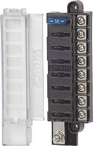 Caixa Porta Fusível Coberta 8 Circuitos Blue Sea 5046