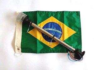 Luz de Ancoragem 360° c/ Bandeira Brasileira Arieltek E1342