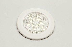 Luminária de Cabine Branco Frio Arieltek E1231