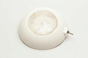 Luminária de Cabine c/ Chave Branco Frio Arieltek E1165