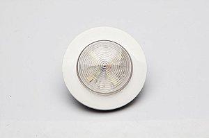 Luminária de Cabine Circular Branco Quente Arieltek E1266