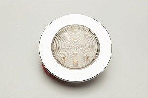 Luminária de Cabine Circular Branco Frio Arieltek E1282