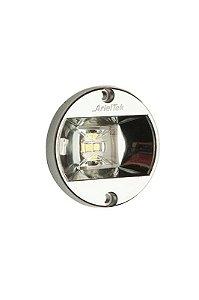 Luz de Popa Circular Cromada Arieltek E1148