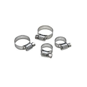 Braçadeira Aço Inox Kit 4 Unidades Grande Seachoice 23501