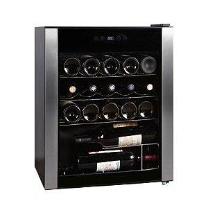 Adega de Vinho 24 Garrafas HS-86we 220V Easy Cooler Preta