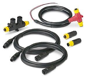 Kit Starter Rede NMEA 2000 c/ T Conector Duplo Ancor 270202