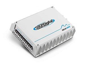 Amplificador Marinizado 4 Canais Soundigital 800.4D Marine
