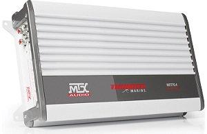 Amplificador Marinizado 4 Canais MTX WET75.4