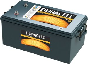 Bateria Estacionária 230A Duracell 12TE220 C100 12V