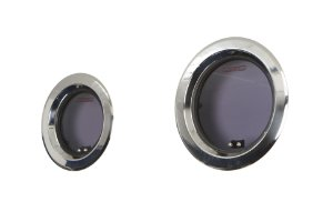Vigia Redonda em Aço Inox 250mm Lewmar