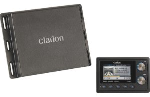 Player c/ Receiver Marinizado Clarion CMS4 Bluetooth