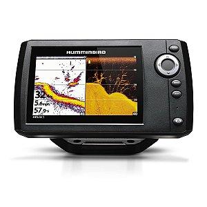 GPS Sonar Humminbird HELIX 5 Di G2 + Transdutor Down Imaging