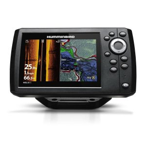 GPS Sonar Humminbird Helix 5 Si G2 C/ Transdutor