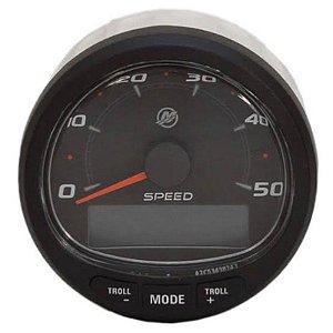Relógio Velocímetro Preto 0-50MPH Mercury 8M0059081