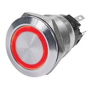 Interruptor p/ Painel Marinizado Blue Sea 4162 Vermelho 12V