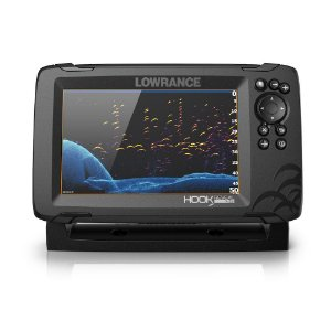 GPS Sonar Lowrance Hook Reveal 7x SplitShot c/ Transdutor