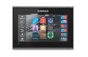 GPS Sonar Simrad GO9 XSE c/ Transdutor HDI Skimmer
