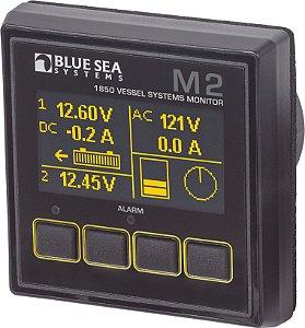 Sistema de Monitoramento p/ Embarcação Blue Sea M2 VSM 1850