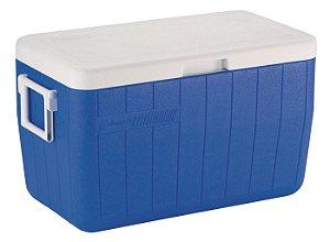 Caixa Térmica 48qt Coleman Inland Perfomance Azul 45L