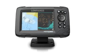 GPS Sonar Lowrence Hook Reveal 5 ROW c Transdutor HDI 83/200