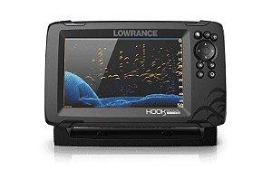 GPS Sonar Lowrance Hook Reveal 7 TripleShot c/ Transdutor