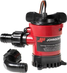 Bomba de Porão Johnson Pump 1000GPH 12V