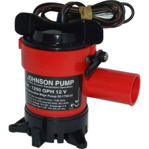 Bomba de Porão 1250GPH Johnson Pump 12V