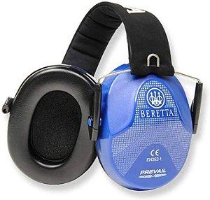 Protetor Auricular Abafador de Ruído Beretta Standard Azul