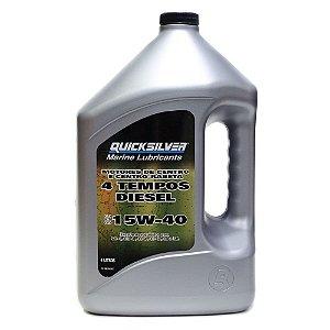 Óleo Lubrificante Centro Rabeta 4T Quicksilver Diesel 15w40