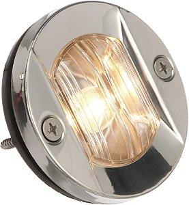 Luz de Popa Circular em Aço Inox Seachoice 12V 2 Milhas