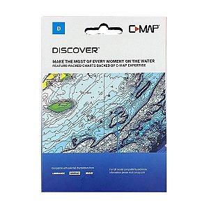 Carta Náutica C-MAP Discover América Do Sul M-SA-Y038.49