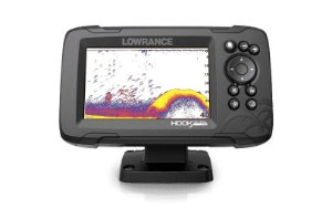 GPS Sonar Lowrance Hook Reveal 5 ROW c Transdutor HDI 50/200
