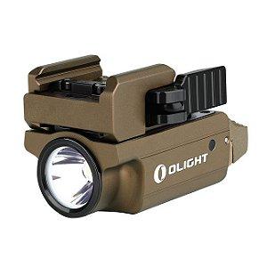 Lanterna p/ Pistola Ambidestra Olight PL-MINI 2 VALKYRIE TAN