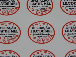 Adesivos Redondos 30x30mm