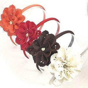 Tiara flor de lasy