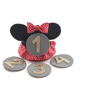 chapéus mesversário Minnie