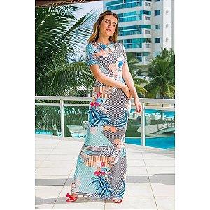 Vestido Angélica em Neoprene Premium- Moda Evangélica