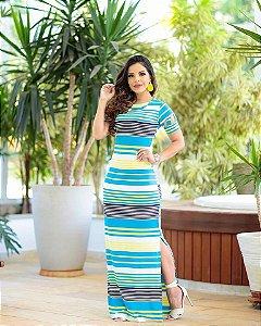 Vestido Michele em Malha Premium - Moda Feminina