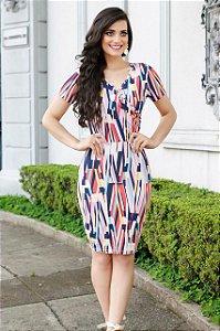 Vestido Edvânia Rosa - Enncante - Moda Evangélica
