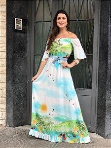 Vestido Leticia - Moda Feminina Moda Evangélica