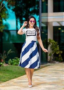 b44c0d034ac T-Shirt Giselda Branca - Moda Enncante - Karina Rampaso - Saias ...