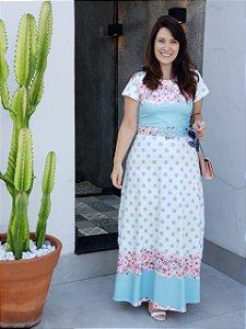 Vestido Longo Renata - Moda Feminina Moda Evangélica