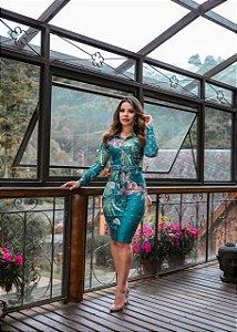 Vestido Manuela Verde - Moda Feminina