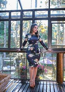 Vestido Celina Estampado  - Moda Feminina